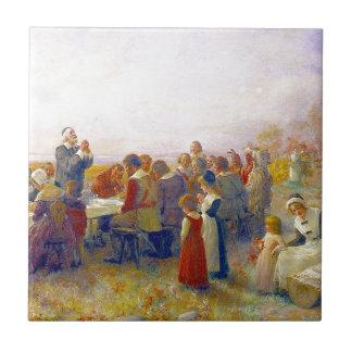 最初の感謝祭 タイル