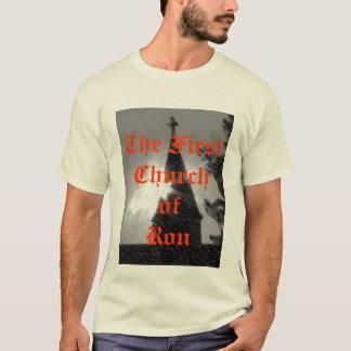 最初の教会ofRon Tシャツ