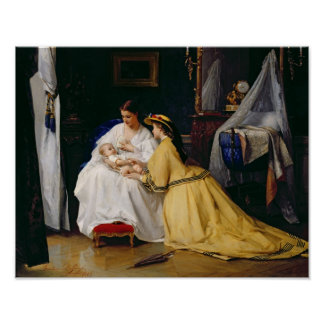 最初の生まれる1863年 ポスター