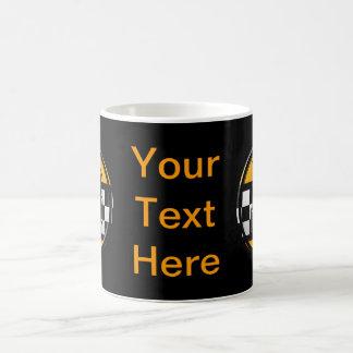 最初のBのタクシー運転手 コーヒーマグカップ