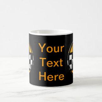 最初のFのタクシー運転手 コーヒーマグカップ