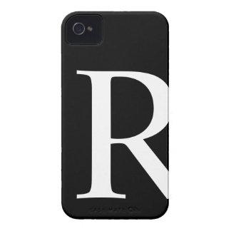 最初のRのiPhone 4/4Sのやっとそこに場合 Case-Mate iPhone 4 ケース