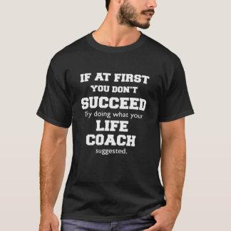 最初コーチのワイシャツで Tシャツ