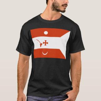 最初セルビアの反乱(1807年)からの旗 Tシャツ