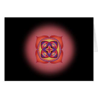 最初チャクラの信念の精神カードへの第一歩 カード