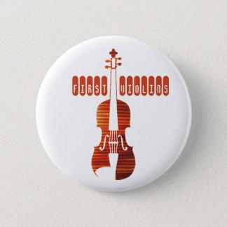 最初バイオリンボタン 缶バッジ