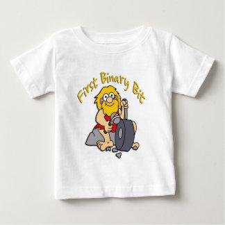 最初二進ビット ベビーTシャツ