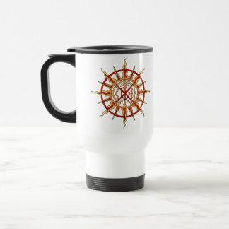 最初国家のコーヒーカップの天然芸術の生命力のマグ トラベルマグ