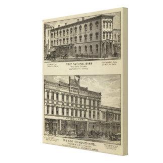 最初国立銀行 キャンバスプリント