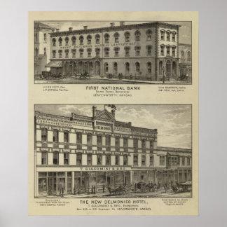 最初国立銀行 ポスター