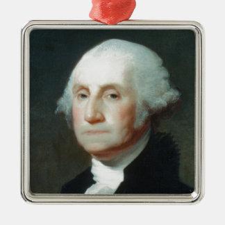 最初大統領: ジョージ・ワシントン メタルオーナメント