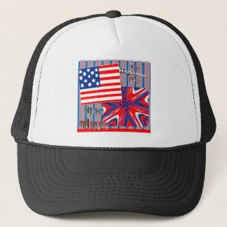 最初旗1777年のジョージ・ワシントンのアイディア、帽子 キャップ