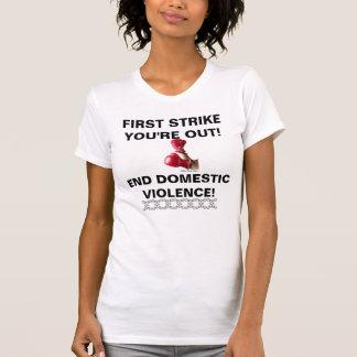 最初殴打! Tシャツ