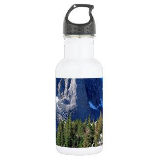 最初湖のシエラネバダ山脈駐車して下さい ウォーターボトル