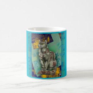 最初猫のキルト コーヒーマグカップ