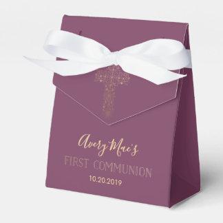 最初聖餐式の好意箱、女の子 フェイバーボックス
