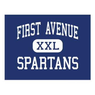 最初道のSpartansの中間のアルカディア ポストカード
