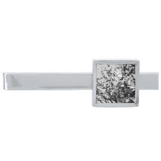 最初雪のタイ・バー 銀色 ネクタイピン