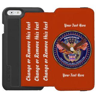 最善の策が行く政治はカスタマイズために指示します INCIPIO WATSON™ iPhone 5 財布型ケース