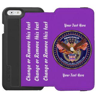 最善の策が行く政治はカスタマイズために指示します INCIPIO WATSON™ iPhone 6 ウォレットケース