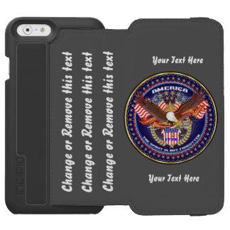 最善の策が行く政治はカスタマイズために指示します INCIPIO WATSON™ iPhone 6 財布ケース