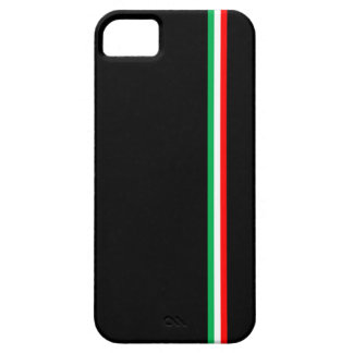 最小主義のイタリアンな旗のデザイン iPhone SE/5/5s ケース
