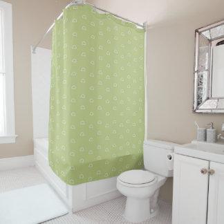 最小主義の幾何学的な形の継ぎ目が無いパターン11 シャワーカーテン