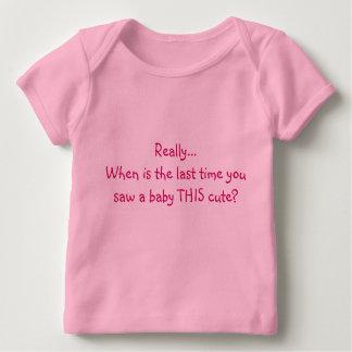 最後があるとき実際に…ベビーTに…会いました ベビーTシャツ