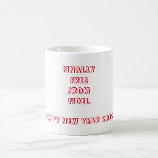 最後にフィデルから放して下さい コーヒーマグカップ