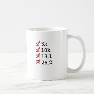 最後にマラソンを走りました コーヒーマグカップ