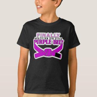 最後にBJJの紫色ベルト!!! Tシャツ