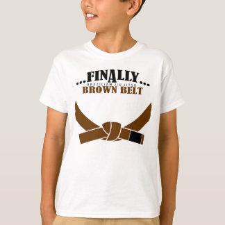最後にBJJブラウンベルト!!! Tシャツ