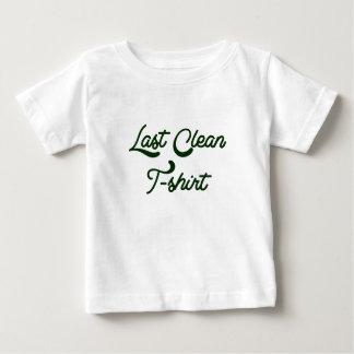 最後のきれいなTシャツ ベビーTシャツ