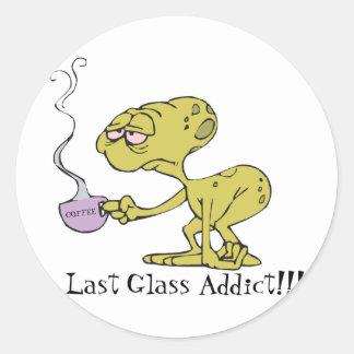 最後のガラス常習者 ラウンドシール