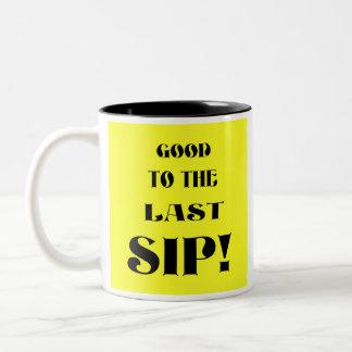 最後の一口! ツートーンマグカップ
