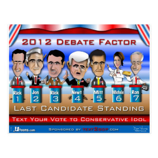 最後の候補者の地位 ポストカード