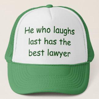 最後の弁護士の帽子を笑わせる彼 キャップ