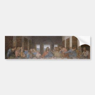 最後の晩餐のレオナルド・ダ・ヴィンチの絵画 バンパーステッカー