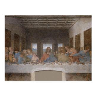 最後の晩餐のレオナルド・ダ・ヴィンチの絵画 ポストカード