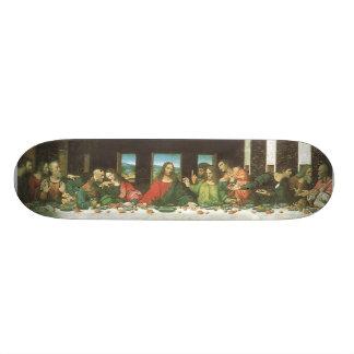 最後の晩餐 スケートボード