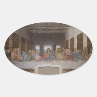 最後の晩餐(1495-1498年) 楕円形シール
