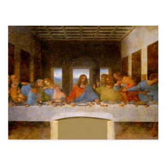 最後の晩餐Da Vinci ポストカード