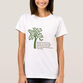 最後の木時だけ Tシャツ