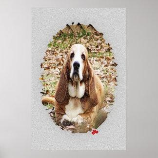 最愛のバセット犬 ポスター