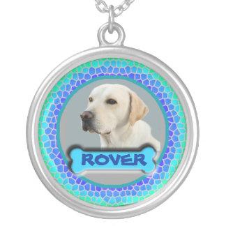 最愛ペット記念物のネックレスを記念して シルバープレートネックレス