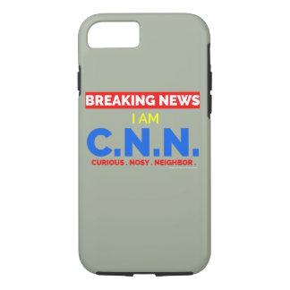 最新ニュース: 私はです好奇心が強くおせっかいな隣人(C.N。) iPhone 8/7ケース