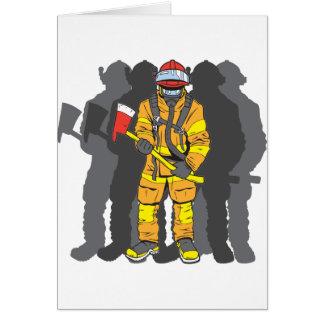 最終的な消防士 カード