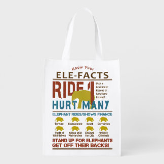 最終的な象の乗車の事実 エコバッグ