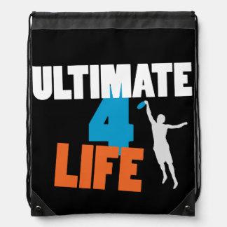 最終的な4生命(暗い)バッグ ナップサック
