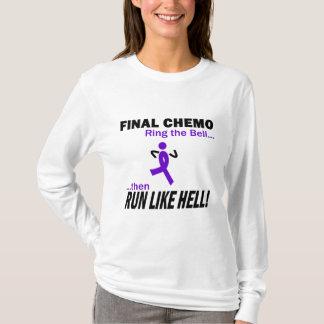 最終的なChemoは多くを-すみれ色のリボン走ります Tシャツ